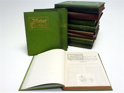 Lot 4 - Early Motorcycling / The Motor Bound Volumes