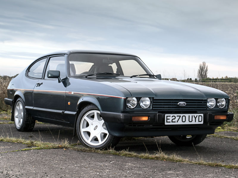 Lot 43-1987 Ford Capri 280 Brooklands