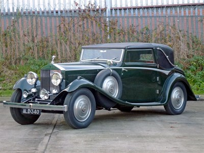 Lot 68-1933 Rolls-Royce 20/25 Sedanca Coupe by Gurney Nutting