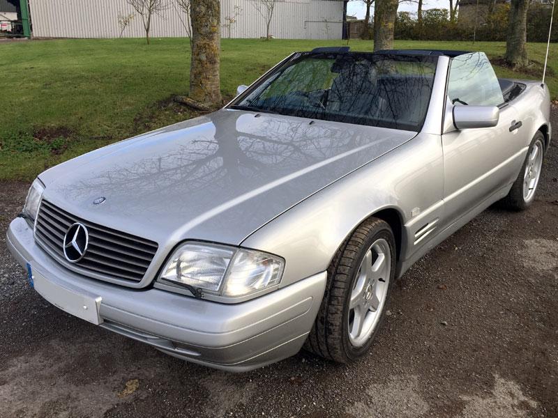 Lot 27-1996 Mercedes-Benz SL 320