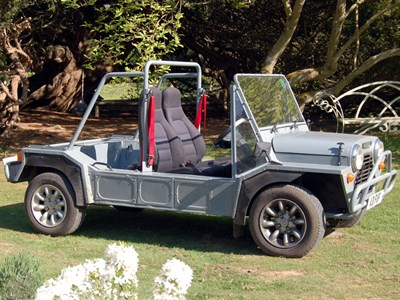 Lot 43-1984 Leyland Mini Moke Californian