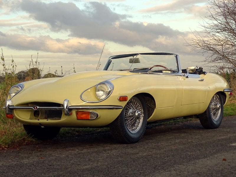 Lot 80-1968 Jaguar E-Type 4.2 Roadster