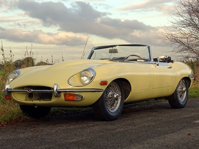 Lot 80 - 1968 Jaguar E-Type 4.2 Roadster