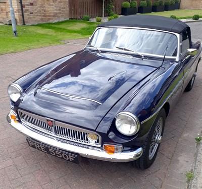 Lot 35-1968 MG C Roadster