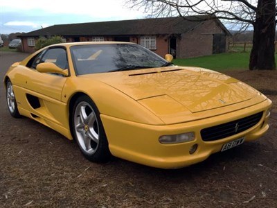 Lot 55-1996 Ferrari F355 Berlinetta