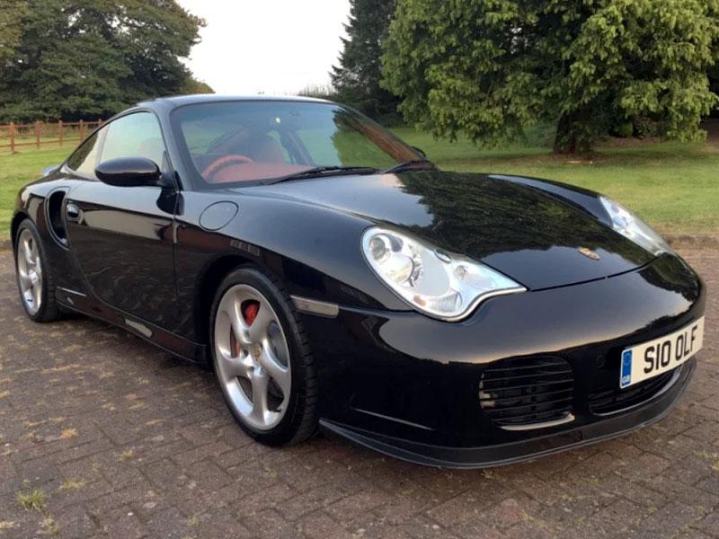 Lot 69-2002 Porsche 911 Turbo