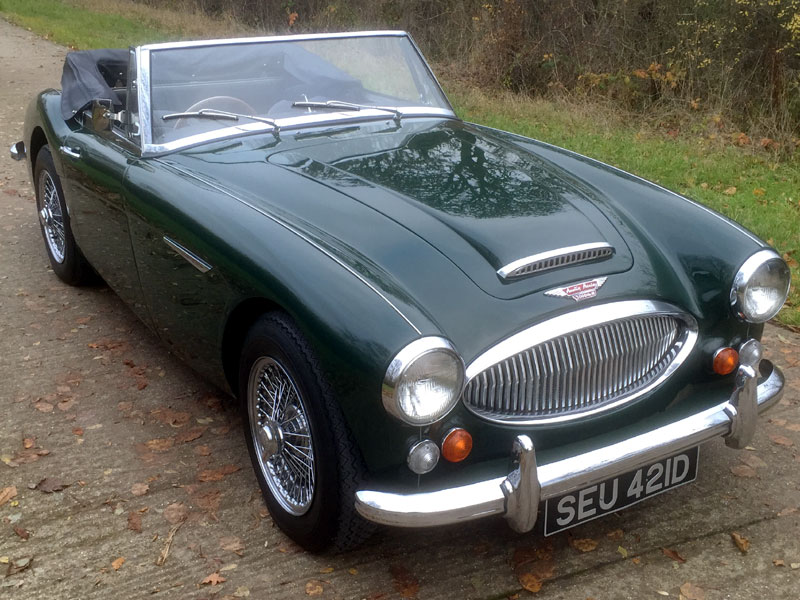 Lot 54-1966 Austin-Healey 3000 MKIII