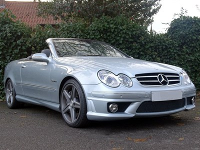 Lot 84 - 2008 Mercedes-Benz CLK 63 AMG