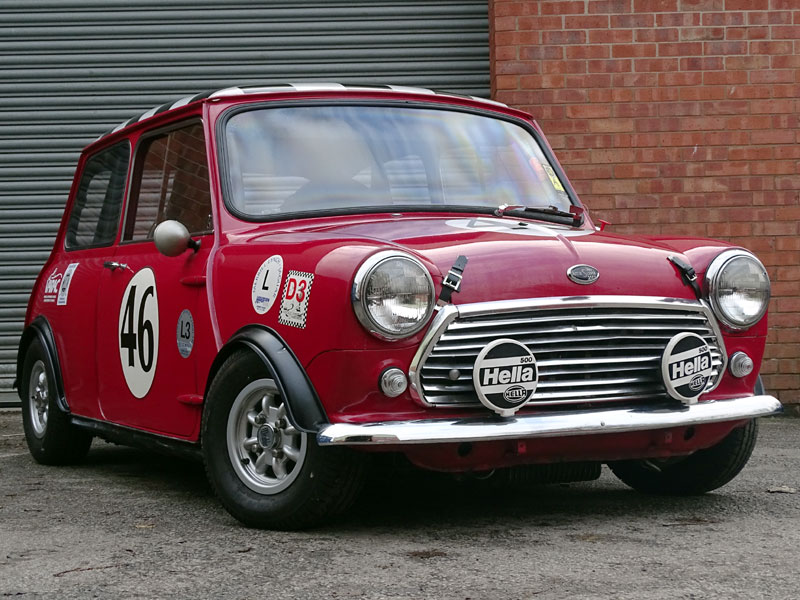 Lot 85-1969 Austin Mini Cooper MKII Race Car