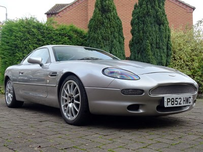 Lot 87 - 1996 Aston Martin DB7