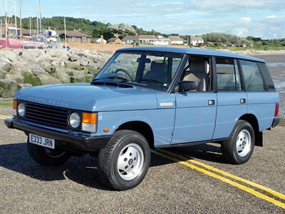 Lot 88-1987 Range Rover Vogue Turbo D