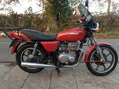 Lot 10-1980 Kawasaki Z400 K4