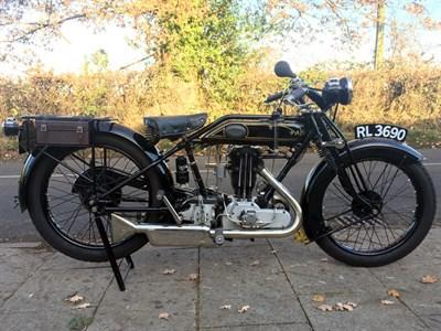 Lot 38-1926 AJS G8
