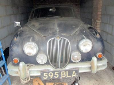 Lot 1-1960 Jaguar MK II 2.4 Litre