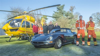 Lot 36-1964 Ferrari 330 GT Nembo Spider