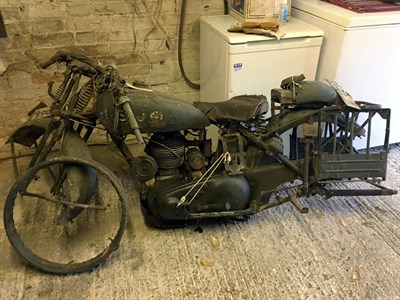 Lot 21 - 1936 Norton Model 16H