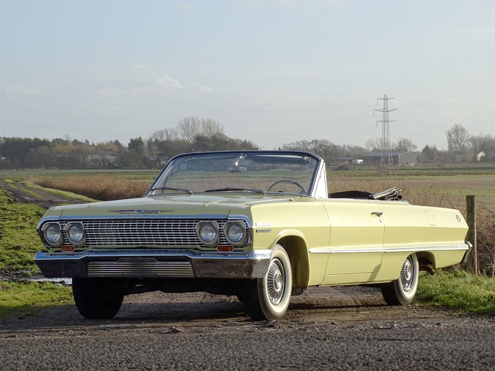 Lot 59 - 1963 Chevrolet Impala Convertible