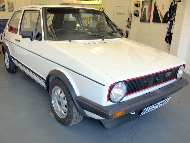 Lot 58-1982 Volkswagen Golf GTi