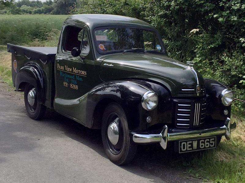 Lot 64-1955 Austin A40 Devon Pickup