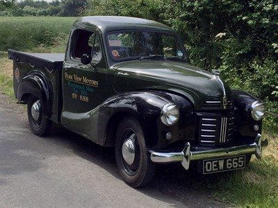 Lot 64-1955 Austin A40 Devon Pickup