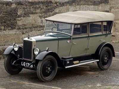 Lot 2-1929 Armstrong Siddeley 12hp Tourer
