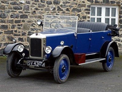 Lot 3-1925 Armstrong Siddeley 14hp MK II Cotswold Tourer