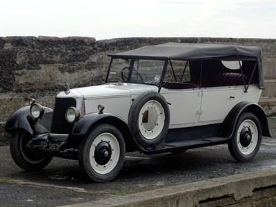 Lot 6-1928 Armstrong Siddeley 20hp Long Ascot Tourer