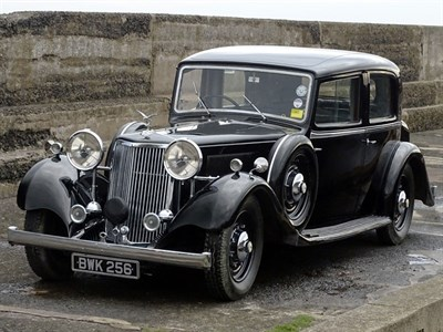 Lot 7-1935 Armstrong Siddeley Special MK II Touring Limousine