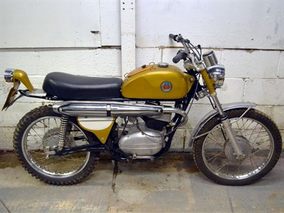 Lot 49 - 1972 Benelli Enduro 175