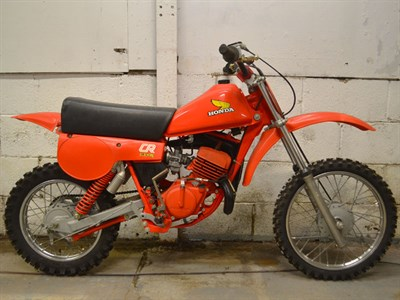 Lot 65 - 1980 Honda CR80 Elsinore