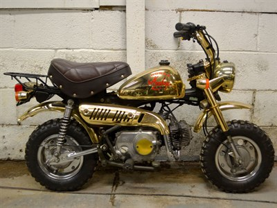 Lot 12 - 1984 Honda Z50 Gold Edition