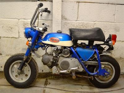 Lot 3-1972 Honda Z50A
