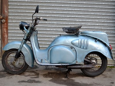 Lot 8 - 1949 Iso Isoscooter