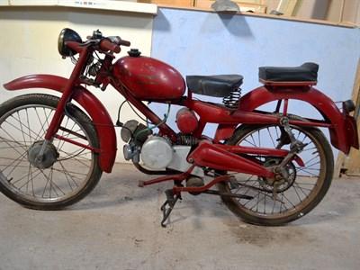 Lot 56-1956 Moto Guzzi Cardellino 65