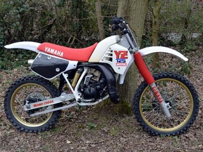 Lot 34-1987 Yamaha YZ125