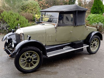 Lot 22 - 1926 Morris Cowley 'Bullnose' Two Seater