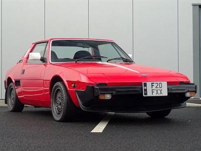 Lot 11-1988 Fiat X1/9 1500