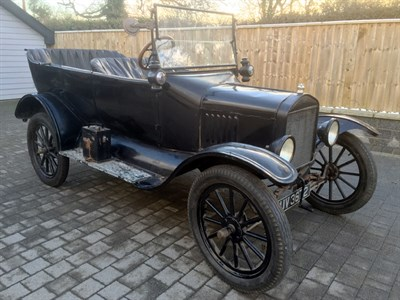Lot 62-1919 Ford Model T Tourer