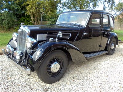 Lot 48-1938 Wolseley 14/56 Saloon