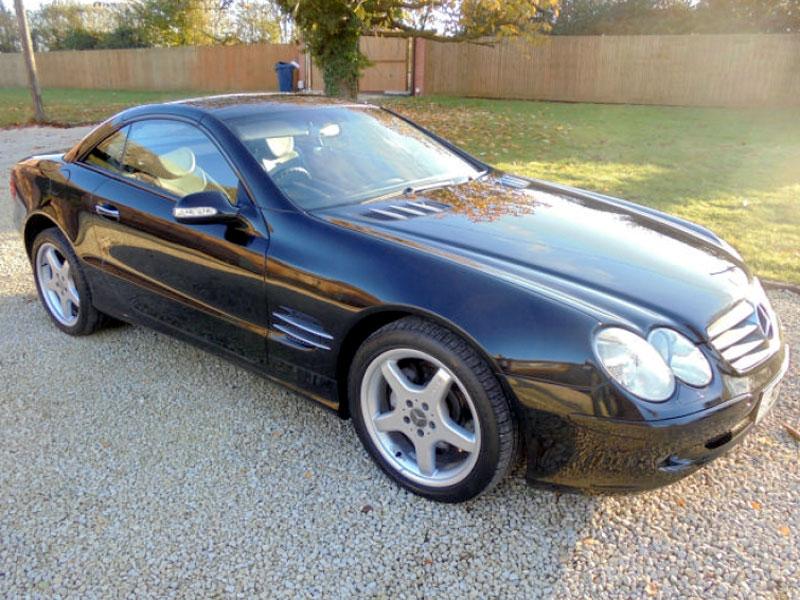 Lot 54 - 2003 Mercedes-Benz SL 500