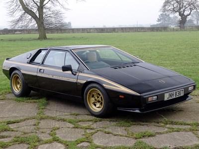 Lot 52-1979 Lotus Esprit 'Commemorative'
