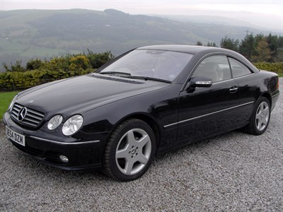 Lot 21 - 2004 Mercedes-Benz CL 500