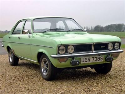 Lot 3-1978 Vauxhall Viva 1800 GLS