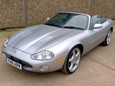Lot 12-2001 Jaguar XKR Convertible