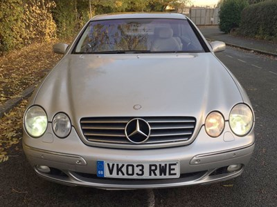 Lot 55 - 2003 Mercedes-Benz CL 500