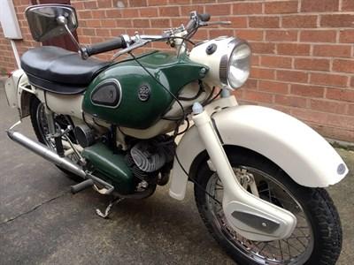Lot 54-1964 Ariel Arrow 200