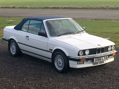 Lot 50 - 1989 BMW 325i Cabriolet