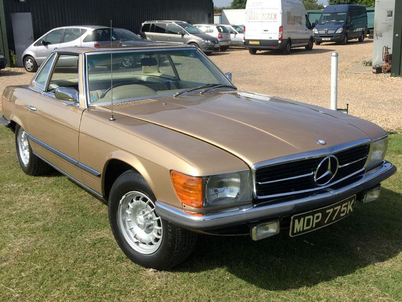 Lot 56-1972 Mercedes-Benz 350 SL