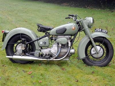 Lot 55-1951 Sunbeam S7 Deluxe
