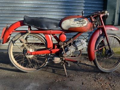 Lot 39-1959 Moto Guzzi Cardellino 73